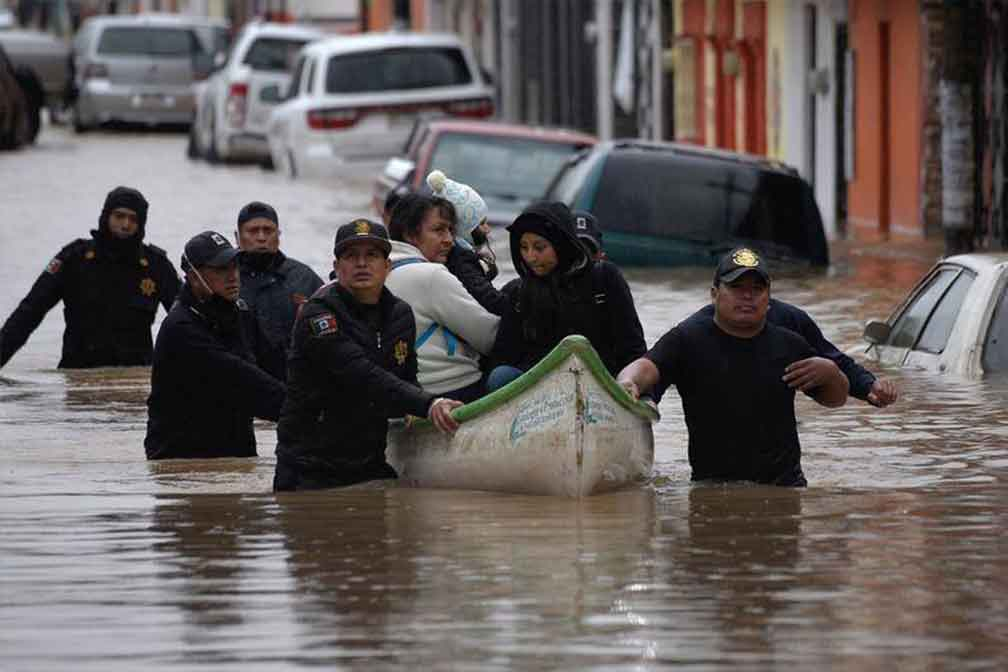 Tropical Storm Eta Hits Mexico and Central America with Powerful Floods, Death & Destruction