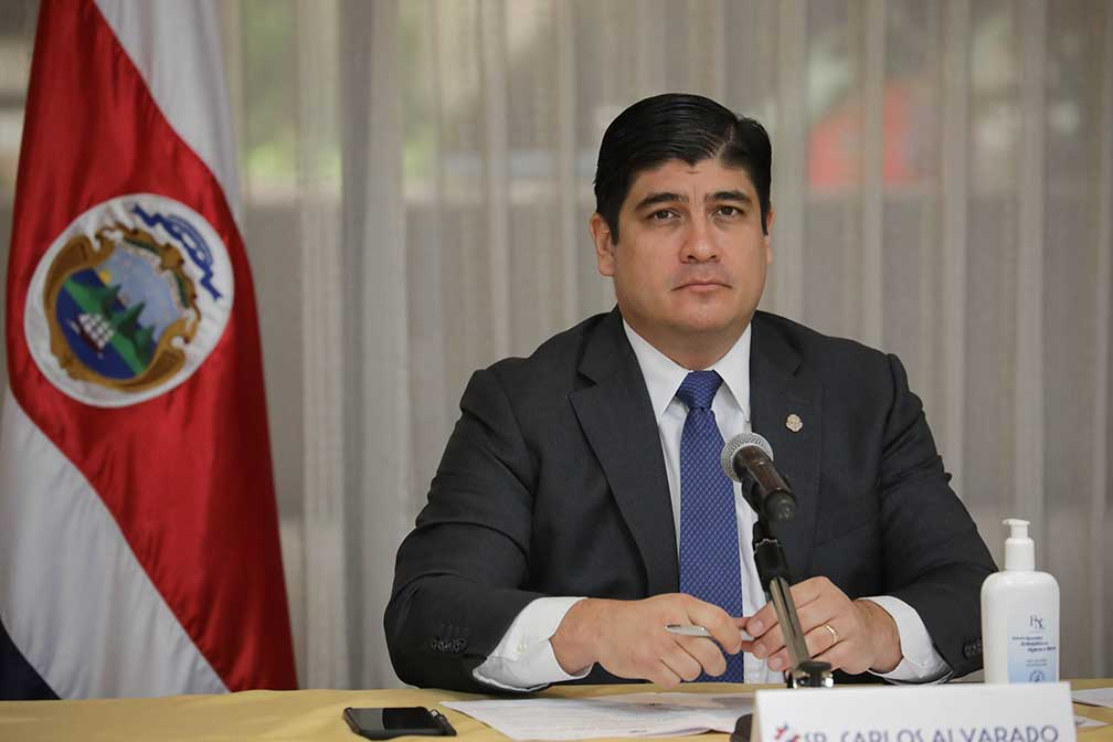 President Alvarado's message for the new year: 'Costa Rica can prevail'