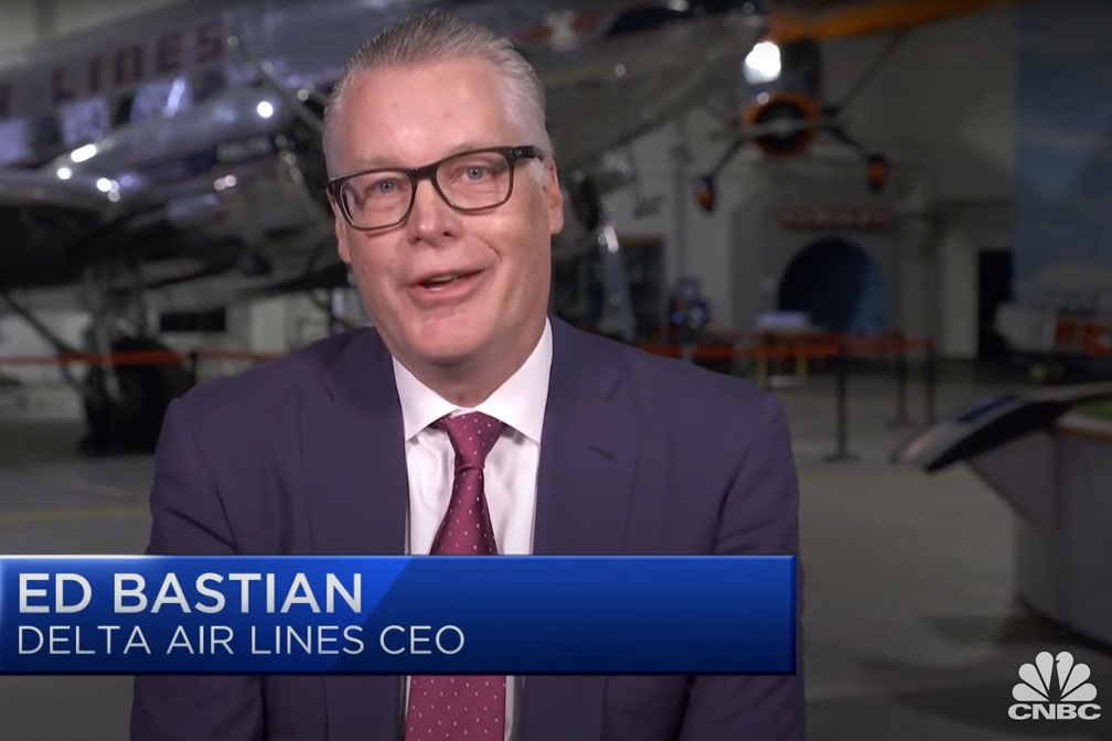 Delta Airlines CEO Delivers Encouraging Forecast