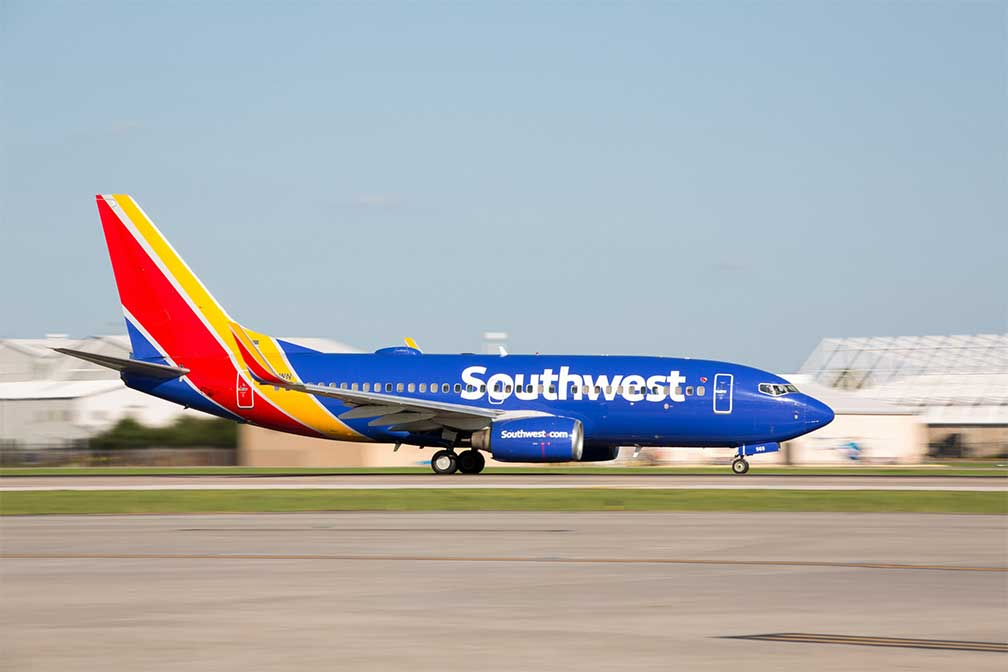 Southwest Airlines' Routes to Costa Rica Remain Suspended