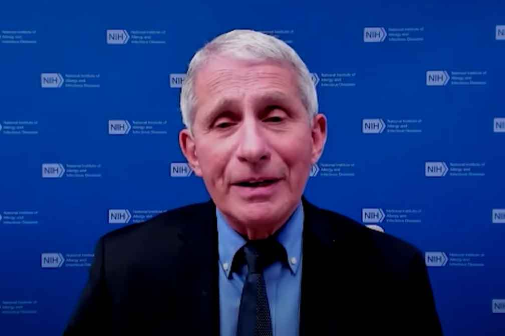 Dr. Fauci Talks Effectiveness Of Double Masking and What Normal Vaccine Side Effects Are