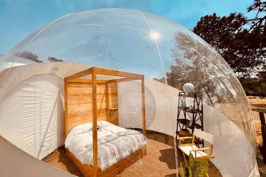 Mexico. The Bubble Hotel Concept Arrives