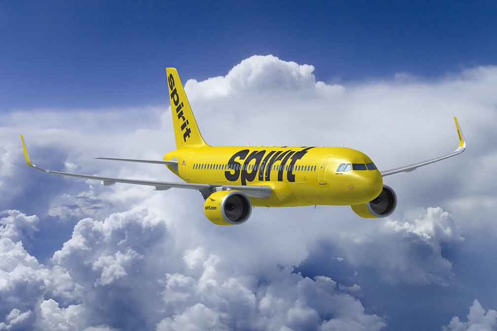 Spirit Airlines to Launch Flights from Atlantic City to Cancun, San Juan